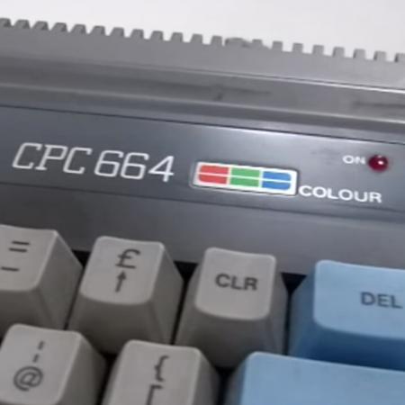 Amstrad-Schneider CPC 664 Computer Museum
