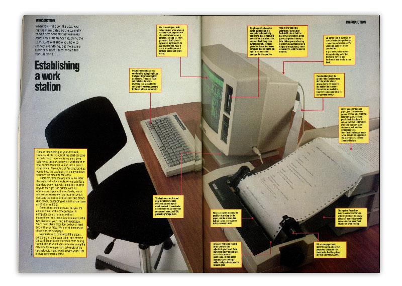 magazine - Amstrad PCW 8256 - computer museum