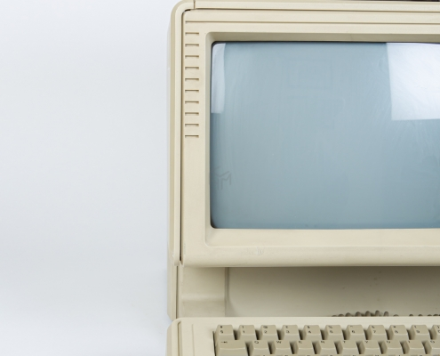 Apple Lisa detail scherm