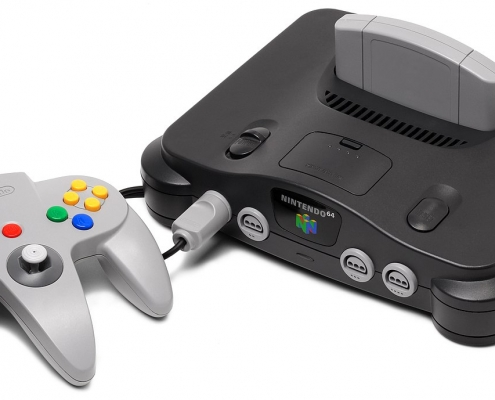 Nintendo-64-Console-computer-museum-arcade