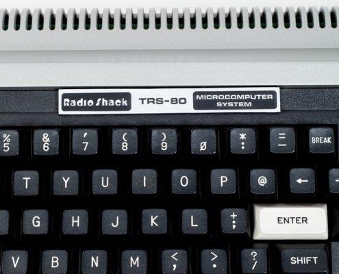 RadioShack TRS-80 Computer Museum detail