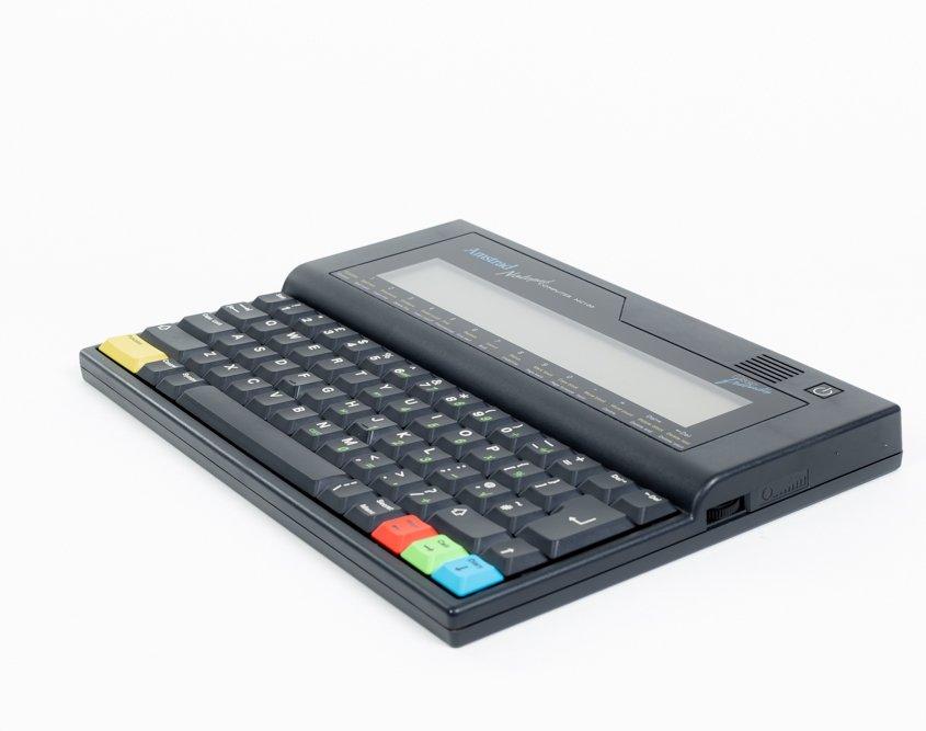 Amstrad NC100 notepad Computer Historisch Museum