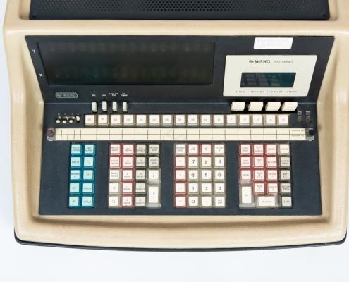 Wang 700 Computer museum