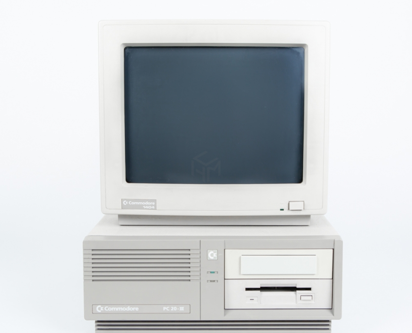 commodore pc20 III computer museum