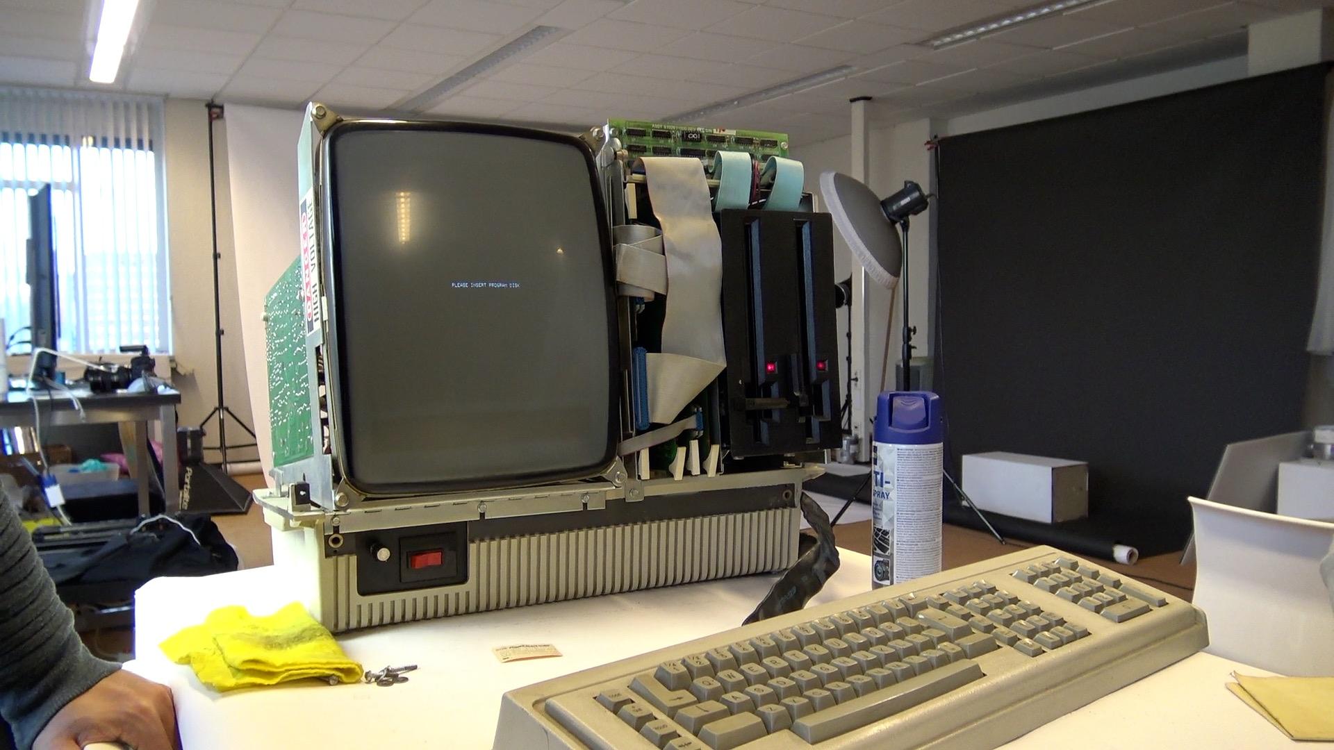 restauratie Oce CPT8525 Computerhistorischmuseum